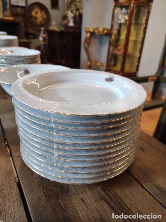 Antigüedades: Vajilla Porcelana George V - Royal Kent Collection - Completa - Nueva sin Estrenar - con Cajas - Foto 13 - 251324285