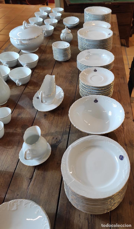 Antigüedades: Vajilla Porcelana George V - Royal Kent Collection - Completa - Nueva sin Estrenar - con Cajas - Foto 14 - 251324285