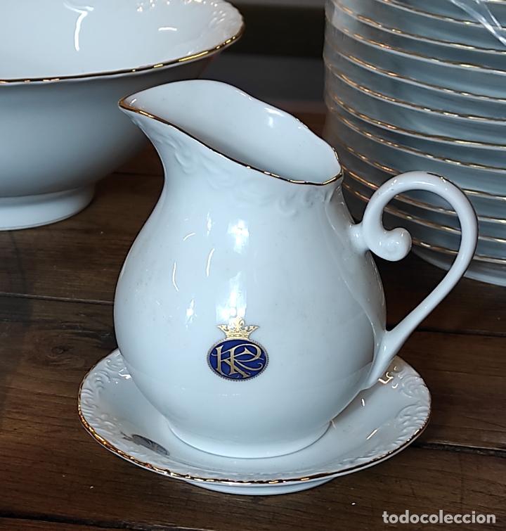 Antigüedades: Vajilla Porcelana George V - Royal Kent Collection - Completa - Nueva sin Estrenar - con Cajas - Foto 15 - 251324285