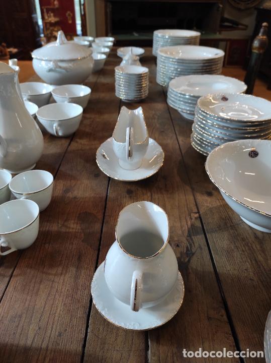 Antigüedades: Vajilla Porcelana George V - Royal Kent Collection - Completa - Nueva sin Estrenar - con Cajas - Foto 16 - 251324285