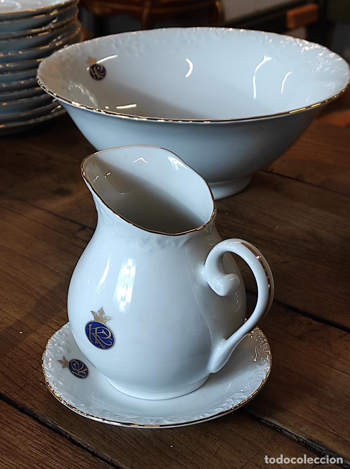 Antigüedades: Vajilla Porcelana George V - Royal Kent Collection - Completa - Nueva sin Estrenar - con Cajas - Foto 17 - 251324285