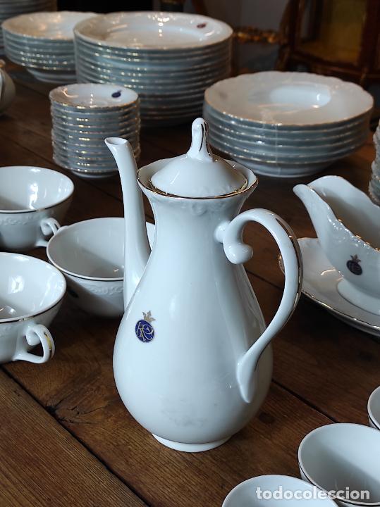 Antigüedades: Vajilla Porcelana George V - Royal Kent Collection - Completa - Nueva sin Estrenar - con Cajas - Foto 18 - 251324285