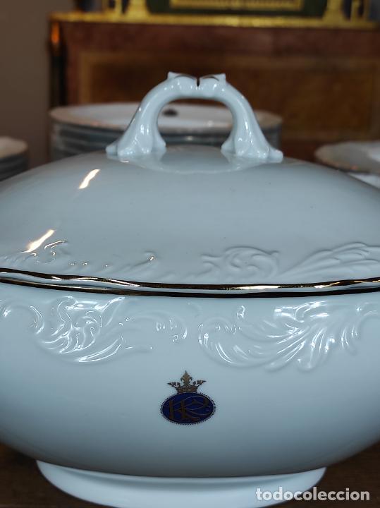 Antigüedades: Vajilla Porcelana George V - Royal Kent Collection - Completa - Nueva sin Estrenar - con Cajas - Foto 21 - 251324285