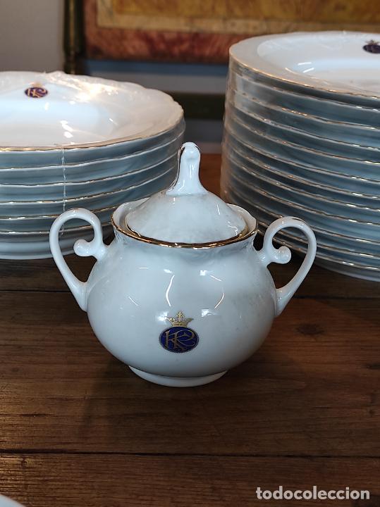 Antigüedades: Vajilla Porcelana George V - Royal Kent Collection - Completa - Nueva sin Estrenar - con Cajas - Foto 22 - 251324285