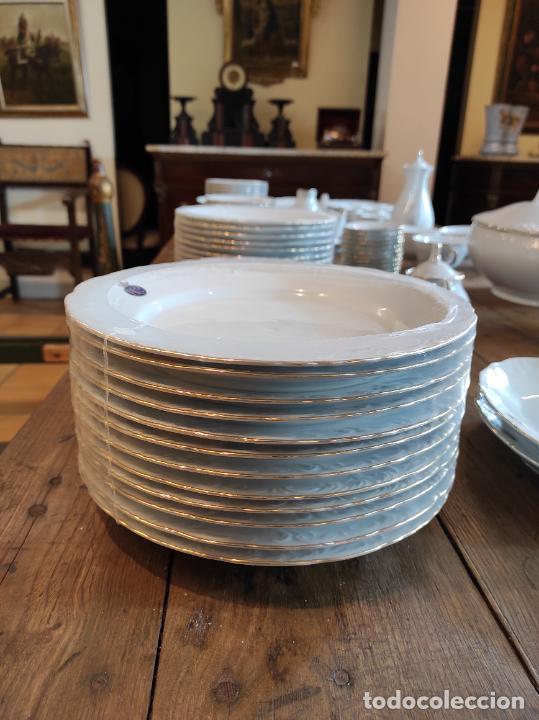 Antigüedades: Vajilla Porcelana George V - Royal Kent Collection - Completa - Nueva sin Estrenar - con Cajas - Foto 23 - 251324285