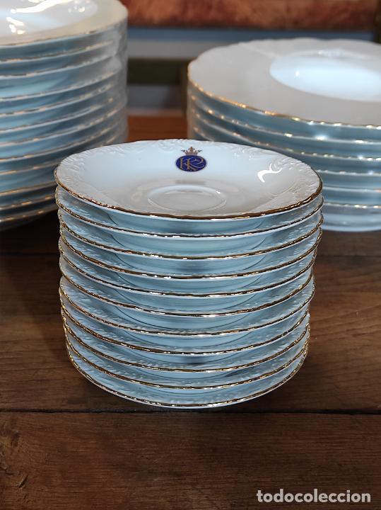 Antigüedades: Vajilla Porcelana George V - Royal Kent Collection - Completa - Nueva sin Estrenar - con Cajas - Foto 24 - 251324285