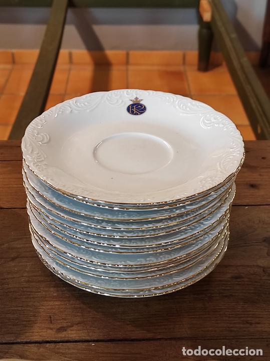 Antigüedades: Vajilla Porcelana George V - Royal Kent Collection - Completa - Nueva sin Estrenar - con Cajas - Foto 26 - 251324285