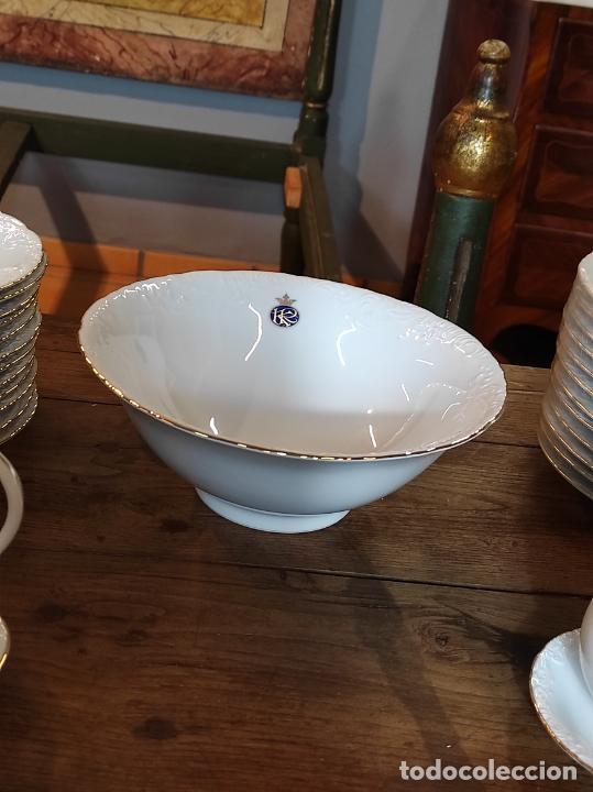 Antigüedades: Vajilla Porcelana George V - Royal Kent Collection - Completa - Nueva sin Estrenar - con Cajas - Foto 28 - 251324285