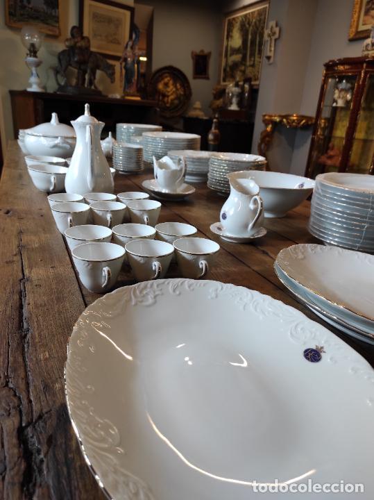 Antigüedades: Vajilla Porcelana George V - Royal Kent Collection - Completa - Nueva sin Estrenar - con Cajas - Foto 29 - 251324285