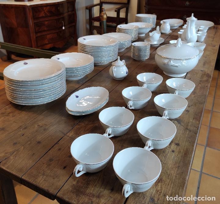 Antigüedades: Vajilla Porcelana George V - Royal Kent Collection - Completa - Nueva sin Estrenar - con Cajas - Foto 30 - 251324285