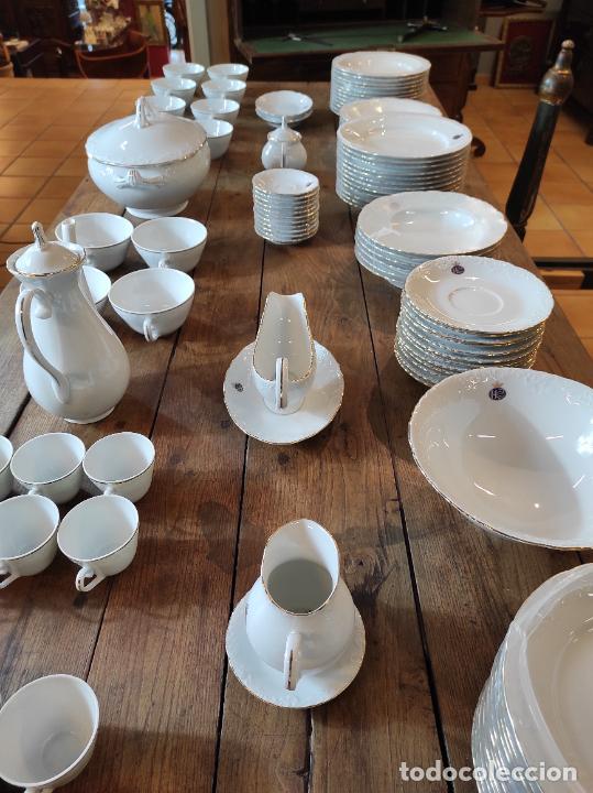 Antigüedades: Vajilla Porcelana George V - Royal Kent Collection - Completa - Nueva sin Estrenar - con Cajas - Foto 31 - 251324285