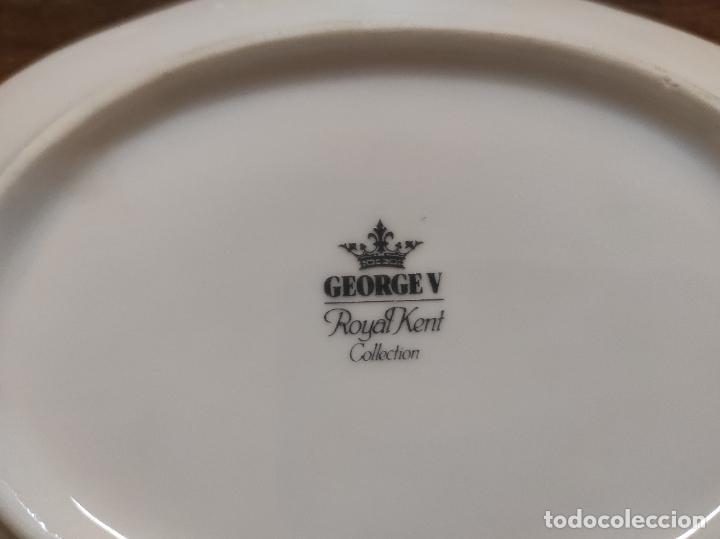 Antigüedades: Vajilla Porcelana George V - Royal Kent Collection - Completa - Nueva sin Estrenar - con Cajas - Foto 32 - 251324285
