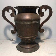 Antigüedades: JARRON DE COBRE ANTIGUO SIGLO XX.. Lote 233502360