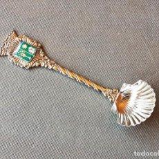 Antigüedades: CUCHARILLA DE INCENSARIO SANTIAGO ALPACA PLATEADA. Lote 233549760