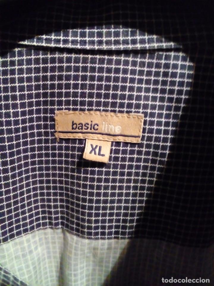 Antigüedades: camisa de hombre basic line - Foto 3 - 233614960