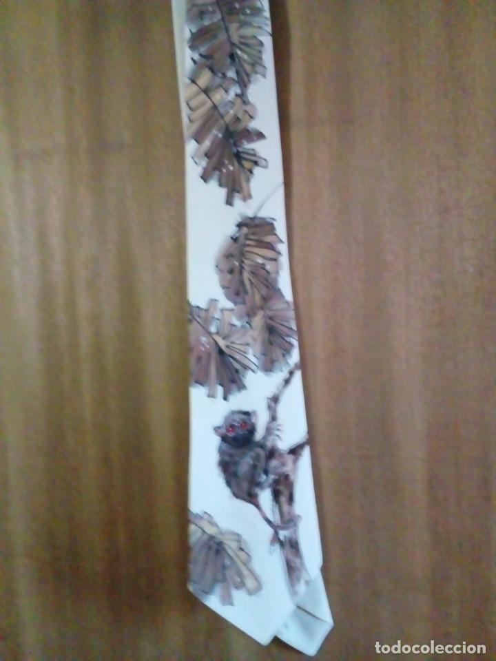 Antigüedades: corbata artesanal pintada a mano - Foto 4 - 233616340