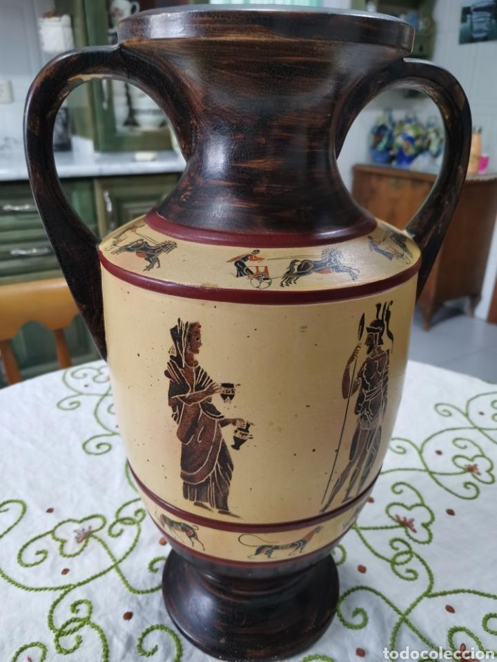 GRAN JARRÓN DE CERÁMICA GRIEGA (Antigüedades - Hogar y Decoración - Jarrones Antiguos)