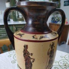 Antigüedades: GRAN JARRÓN DE CERÁMICA GRIEGA. Lote 233650220