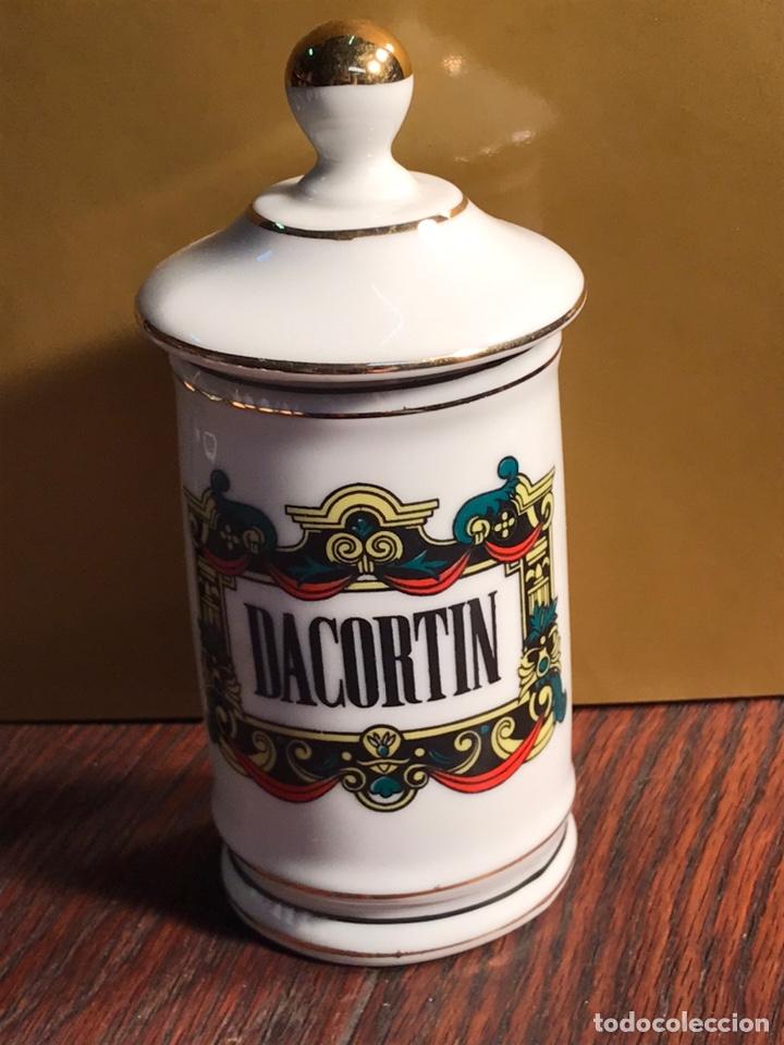 ALBARELO DE PORCELANA DACORTIN 13.5X6.5CM (Antigüedades - Porcelanas y Cerámicas - Otras)
