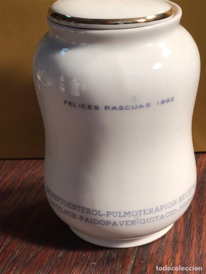 Antigüedades: Albarelo de porcelana 11x7cm - Foto 2 - 233656630