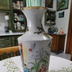 Antigüedades: GRAN JARRÓN CON MOTIVOS CHINESCOS. Lote 233657525