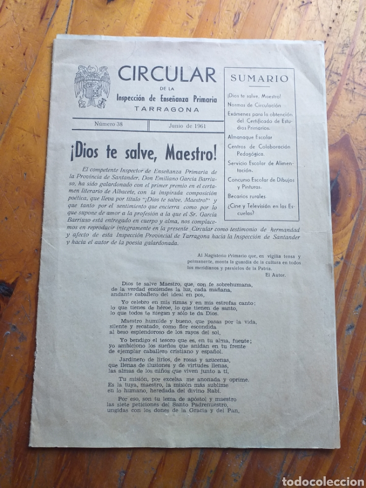 Antigüedades: POSTER F.C.B. BARCELONA,FALANGES JUVENILES DE FRANCO, XAVIER BARBERA TERRES DE LLEIDA ,POBLET ,ETC - Foto 22 - 233662515