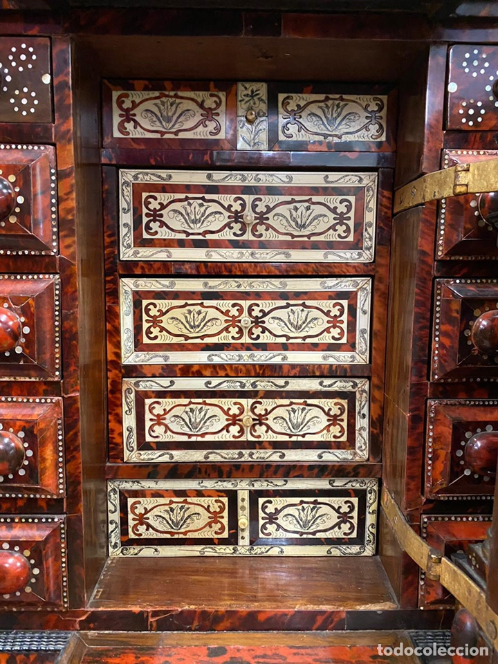 Antigüedades: BARGUEÑO BARROCO MEXICANO S.XVII. - Foto 3 - 233675025