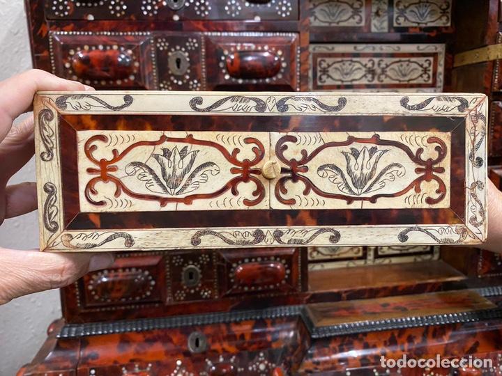 Antigüedades: BARGUEÑO BARROCO MEXICANO S.XVII. - Foto 9 - 233675025