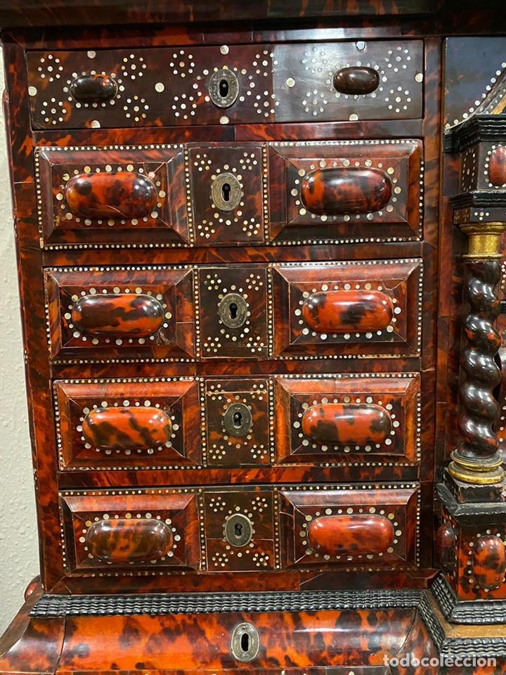 Antigüedades: BARGUEÑO BARROCO MEXICANO S.XVII. - Foto 10 - 233675025