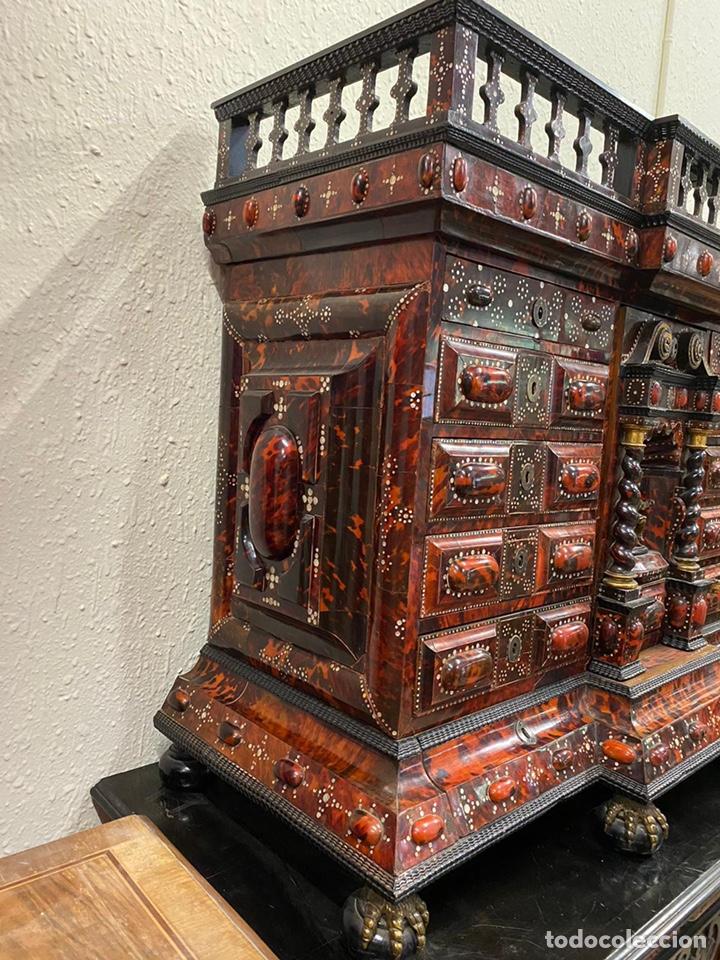 Antigüedades: BARGUEÑO BARROCO MEXICANO S.XVII. - Foto 11 - 233675025