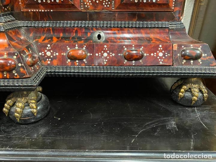Antigüedades: BARGUEÑO BARROCO MEXICANO S.XVII. - Foto 12 - 233675025