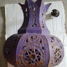 Antiquités: FAROL EN HIERRO. Lote 233685485