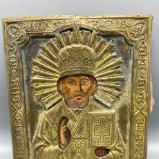 Antigüedades: ICONO SAN NICOLAS. Lote 233756375