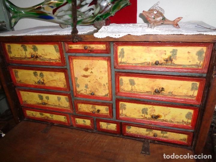 Antigüedades: BARGUEÑO NOGAL SIGLO XVIII - Foto 5 - 29038961