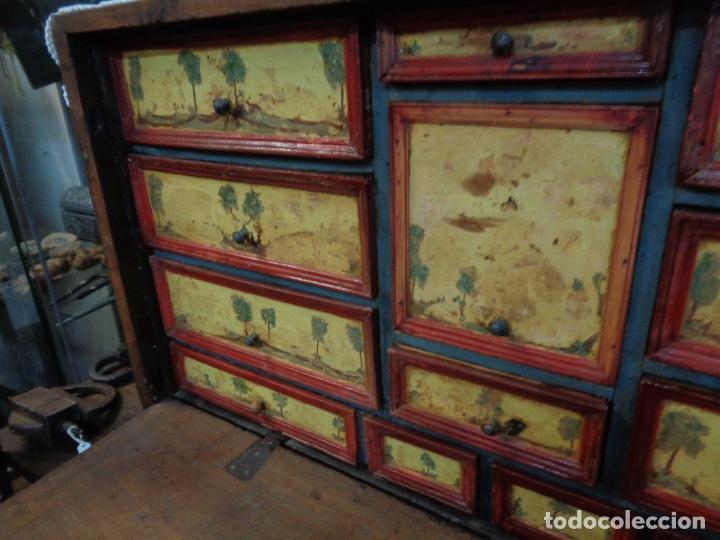Antigüedades: BARGUEÑO NOGAL SIGLO XVIII - Foto 6 - 29038961