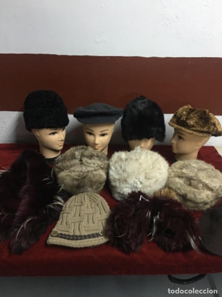 Antigüedades: Enorme lote de pieles siberianas - Foto 4 - 233805850