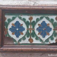 Antigüedades: AZULEJO ANTIGUO DE TOLEDO - SIGLO XVI - ARISTA - RENACIMIENTO.. Lote 233914580
