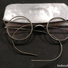 Antigüedades: ANTIGUAS GAFAS CON FUNDA. Lote 233965205