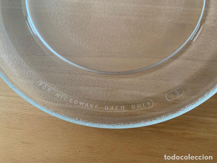 Antigüedades: Plato microondas Moulinex. Perfecto! 31,5 cm - Foto 3 - 234026045