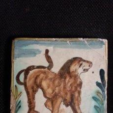 Antigüedades: AZULEJO CATALAN DE SIGLO XVII. Lote 234170360