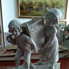 Oggetti Antichi: FIGURA PORCELANA ANTIGUA 1900-1920. Lote 234310300