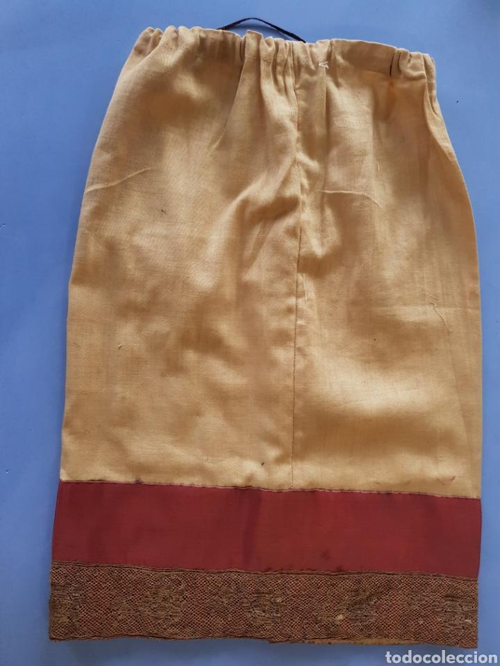 Antigüedades: Falda y camisa de niña , finales del siglo XIX - Foto 2 - 234328835