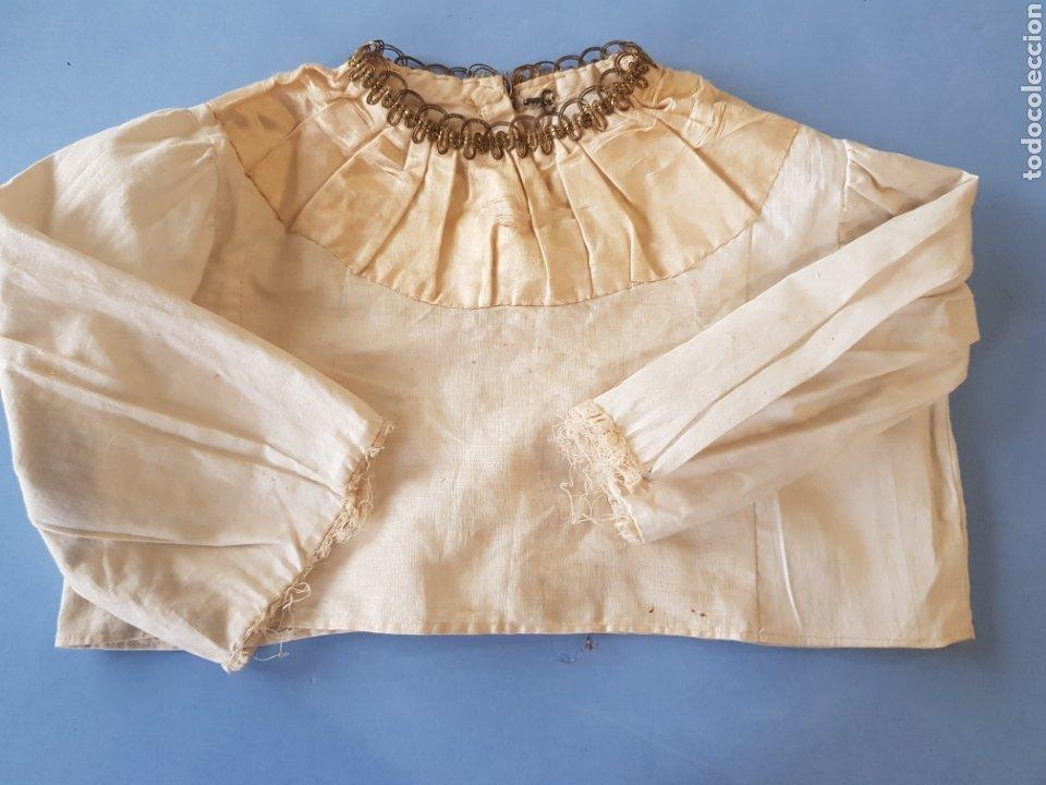 Antigüedades: Falda y camisa de niña , finales del siglo XIX - Foto 5 - 234328835