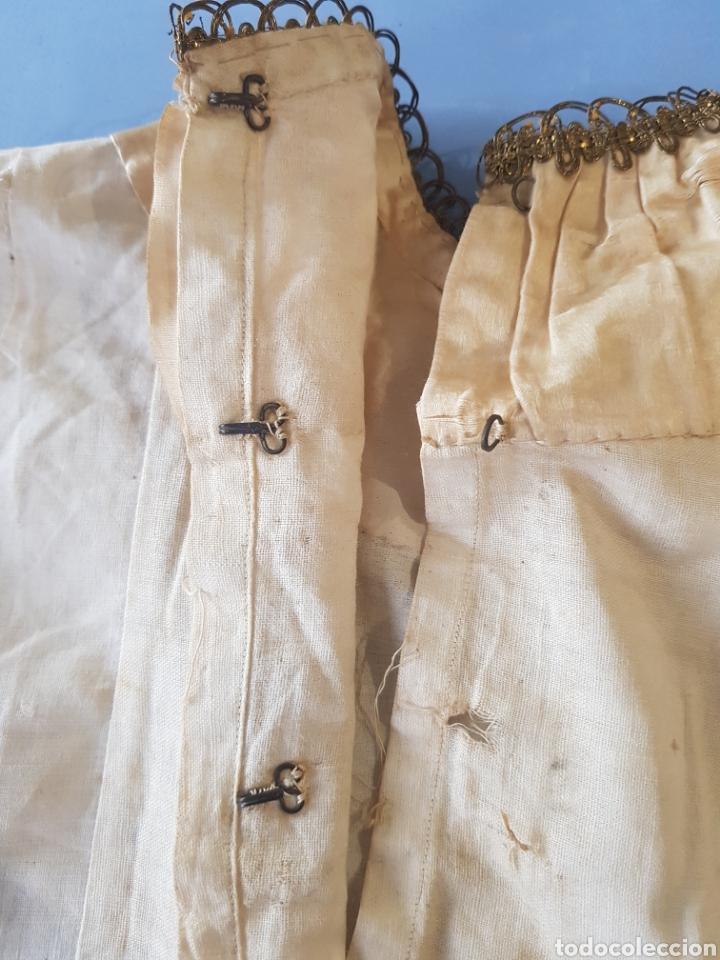 Antigüedades: Falda y camisa de niña , finales del siglo XIX - Foto 7 - 234328835