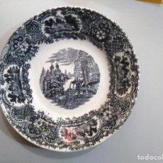Antigüedades: PLATO HONDO 22 CM - PICKMAN - LA CARTUJA DE SEVILLA. Lote 234364190