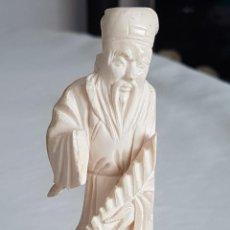 Antigüedades: FIGURA DE MARFIL CHINA. Lote 234389175