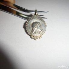 Antigüedades: BONITA MEDALLA VIRGEN DEL PILAR SAGRADO CORAZON. Lote 234403130