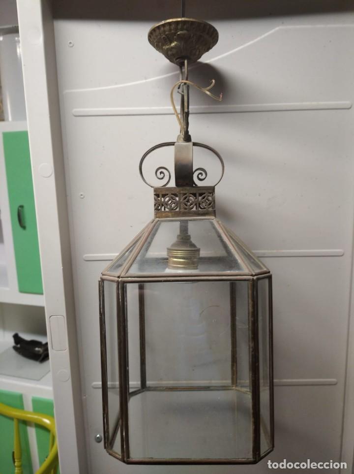 LÁMPARA. (Antigüedades - Iluminación - Lámparas Antiguas)