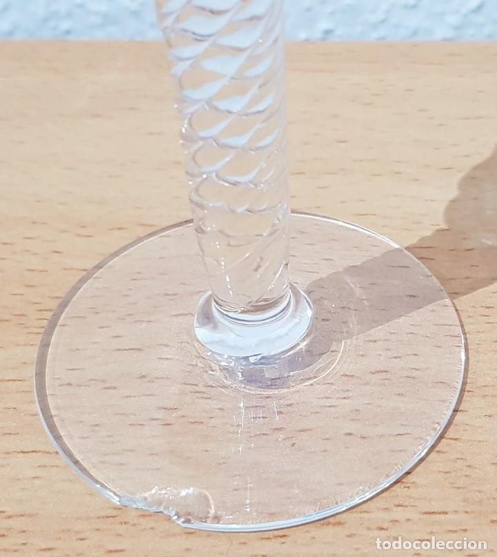 Antigüedades: Juego 12 copas 100 ml. - Cristal Murano - Foto 4 - 234411210