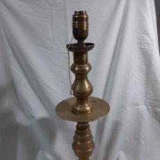 Antigüedades: CADELERO DE BRONCE ANTIGUO. Lote 234441105